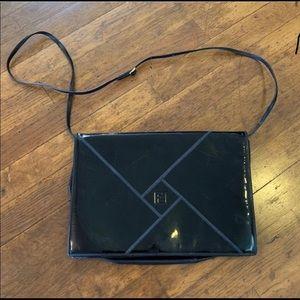 Vintage Fendi Patent Leather Shoulder Bag